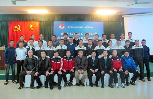 Khai mạc Lớp tập huấn giám sát, trọng tài các giải bóng đá ngoài chuyên nghiệp Quốc gia 2018