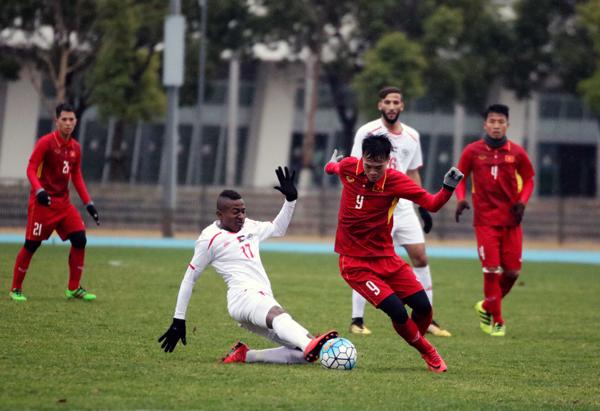 Giao hữu tại Jinshan, U23 Việt Nam chia điểm với U23 Palestine