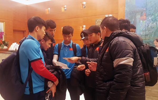 ĐT U23 Việt Nam đã có mặt tại Changshu, tập trung tối đa cho trận đấu với Syria