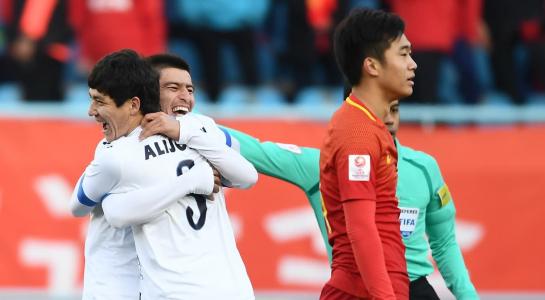 Sau Thái Lan, đến lượt Trung Quốc bị loại khỏi giải U23 châu Á