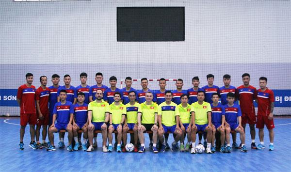 Đội tuyển Futsal Quốc gia hoàn thành thể lực, lên đường sang Nhật tập huấn trước VCK Futsal châu Á 2018