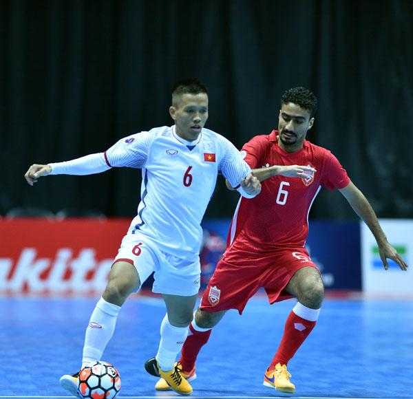 VCK Futsal châu Á 2018: ĐT Futsal Việt Nam giành trọn 3 điểm