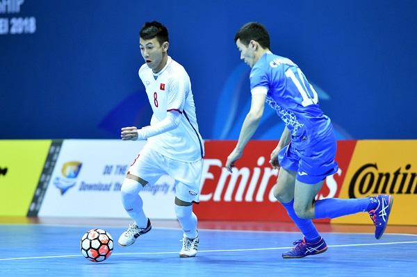 Nỗ lực bất thành, ĐT Việt Nam dừng chân tại tứ kết giải futsal châu Á 2018