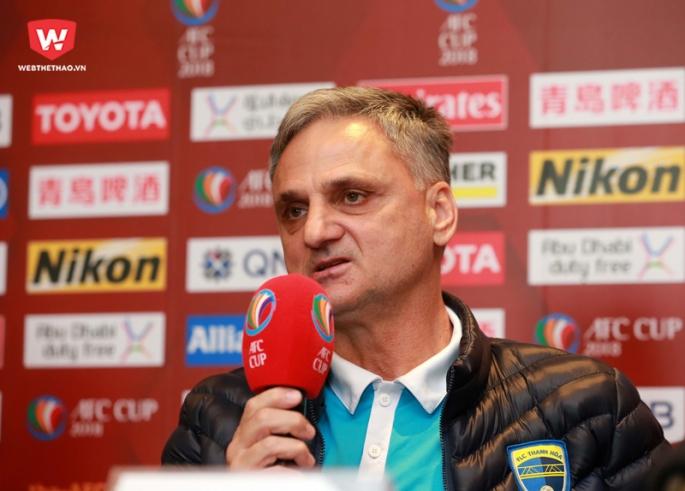 Trở về FLC Thanh Hóa, Tiến Dũng ngay lập tức được trọng dụng tại AFC Cup