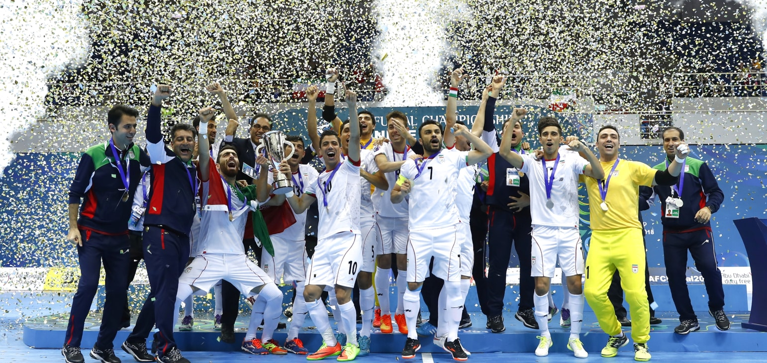 Thắng Nhật Bản 4-0, Iran vô địch Giải futsal châu Á 2018