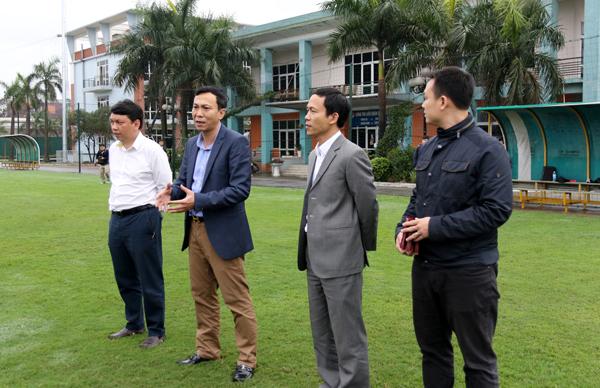 Phó Chủ tịch thường trực VFF Trần Quốc Tuấn gặp mặt động viên ĐT nữ QG sau kỳ nghỉ Tết