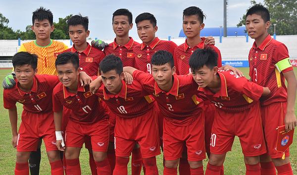 Danh sách ĐT U16 Việt Nam tập trung đợt 1/2018 (tham dự giải U16 Nhật Bản-Asean)