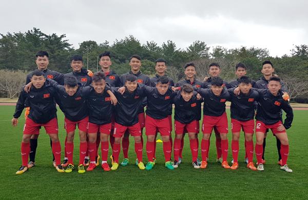 U16 Việt Nam sẵn sàng cho trận ra quân gặp U16 Lào