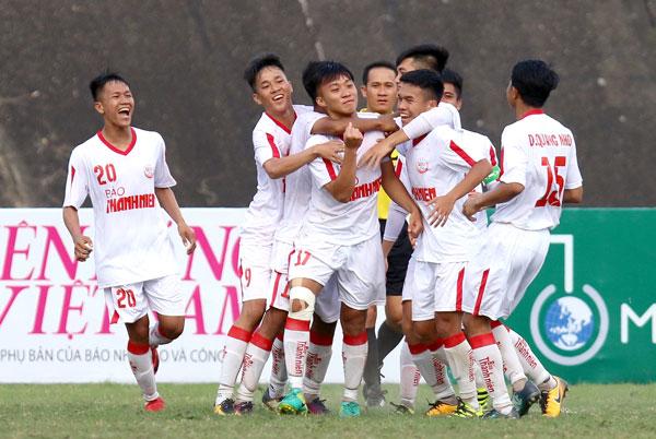 Kết quả vòng 1 bảng B VCK U19 Quốc gia 2018: Hoàng Anh Gia Lai và Viettel đều có 3 điểm