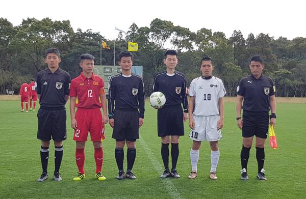 Bất phân thắng bại với Tuyển Miyazaki, U16 Việt Nam tạm giữ ngôi đầu bảng D