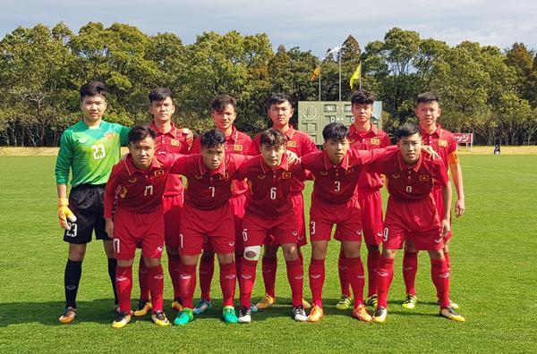 Nhất bảng D, U16 Việt Nam gặp U16 Thái Lan tại VCK Giải quốc tế U16 Nhật Bản- Asean 2018