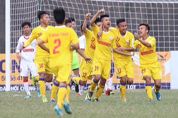 Kết quả vòng 3 bảng B VCK giải U19 QG 2018: SLNA giành chiếc vé cuối cùng vào chơi vòng bán kết