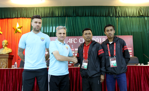 [AFC Cup 2018] Phát biểu trước trận Thanh Hóa vs. Bali United