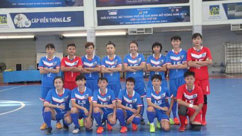 Chung kết giải Futsal nữ TP.HCM mở rộng - Cúp LS 2018: Đội Quận 8 quyết đòi nợ