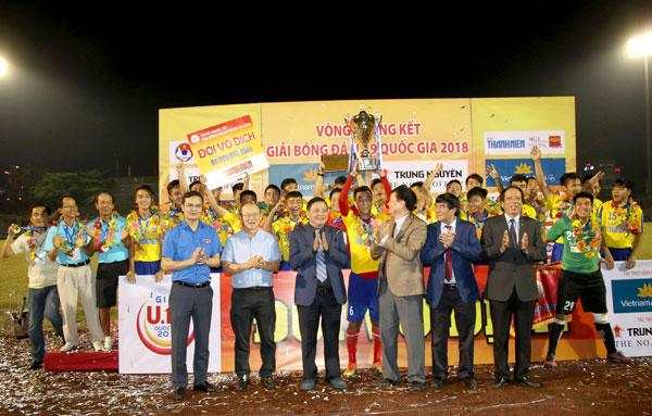 Đồng Tháp đăng quang ngôi vô địch U19 Quốc gia 2018