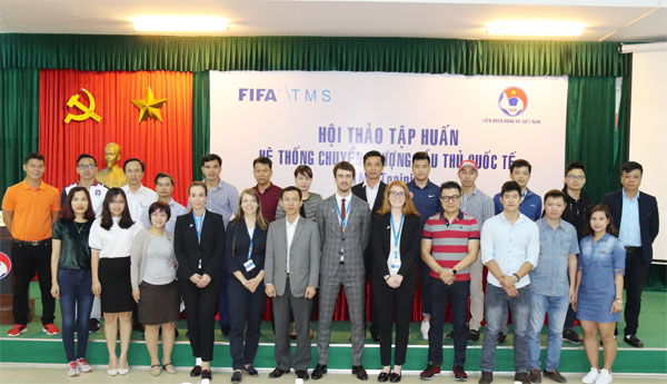 VFF tổ chức Hội thảo chuyển nhượng cầu thủ (TMS) cho các CLB Việt Nam