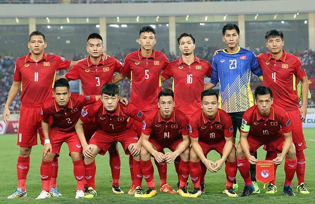 Danh sách ĐTQG tập trung đợt 1/2018 (Vòng loại Asian Cup 2019)