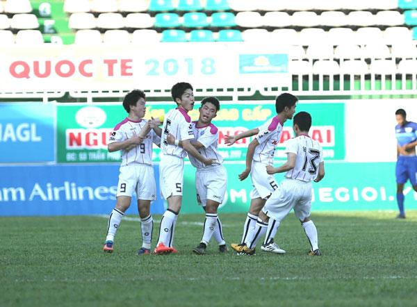U.19 Mito Hollyhock 3-1 Chonburi: Người Nhật ra mắt ấn tượng