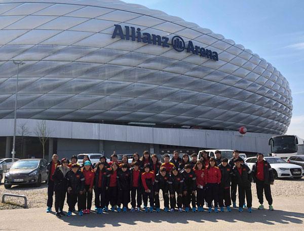23h ngày mai (26/3), đội tuyển nữ Việt Nam thi đấu giao hữu với CLB nữ Bayern Munich (Đức)