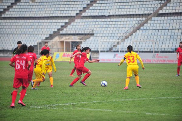 Kết quả lượt trận thứ 4 giải bóng đá nữ Vô địch U16 QG 2018 (ngày 29/3)