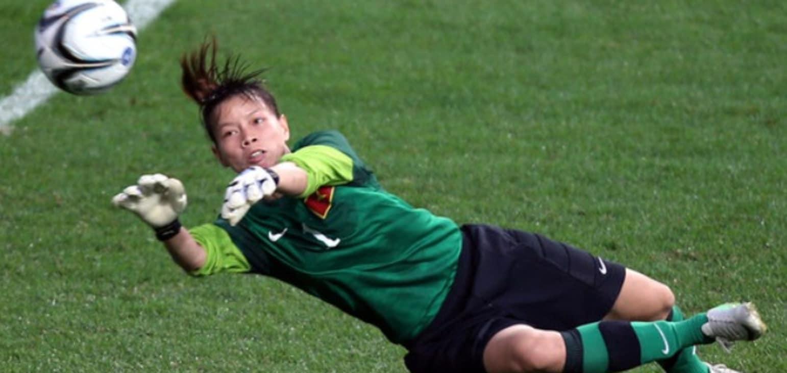 Thủ môn Kiều Trinh quyết tâm cùng ĐTVN giành vé dự World Cup 2019