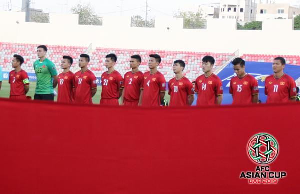 Ngày 4/5/2018 bốc thăm chia bảng VCK Asian Cup 2019