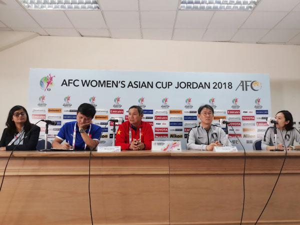 VCK Asian Cup nữ 2018 (bảng B): Phát biểu trước trận Việt Nam vs Hàn Quốc