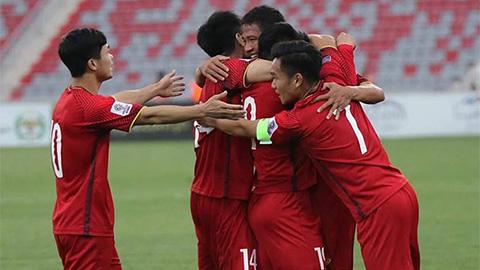 ĐT Việt Nam tăng 10 bậc trên BXH FIFA tháng 4/2018