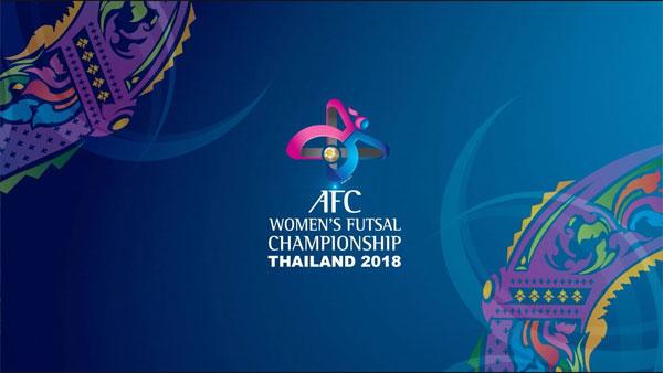 Lịch thi đấu VCK giải Futsal nữ châu Á Thái Lan 2018