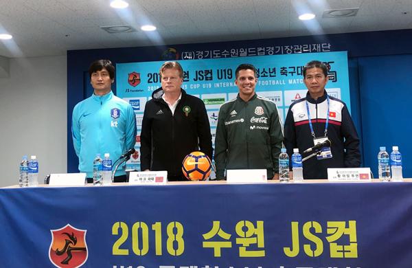 U19 Việt Nam sẽ học hỏi từ chính các đối thủ tại Suwon JS Cup 2018