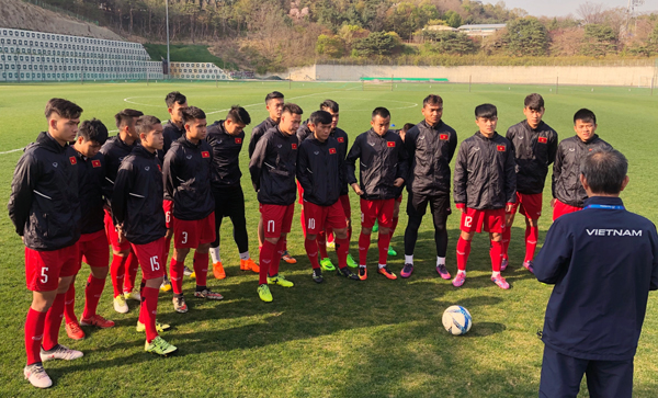 U19 Việt Nam thua 0-4 trước Mexico trong trận ra quân tại Suwon JS Cup 2018