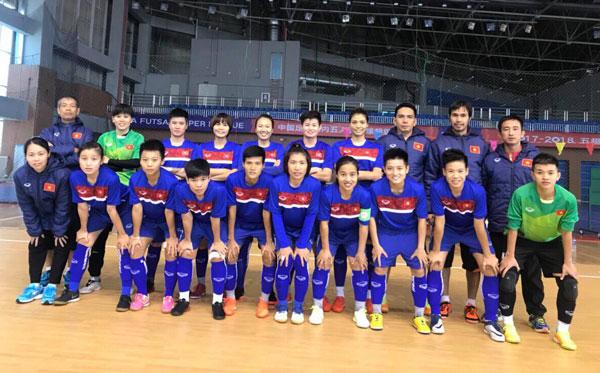Hướng tới VCK Futsal nữ châu Á 2018: ĐT Futsal nữ Việt Nam thi đấu giao hữu với ĐT Futsal nữ Trung Quốc