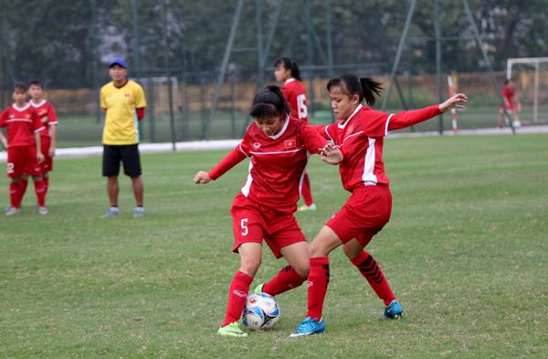 Ngày mai (22/4), đội tuyển U16 nữ Quốc gia di chuyển đi Quảng Ninh đấu tập với U19 nữ Than KSVN