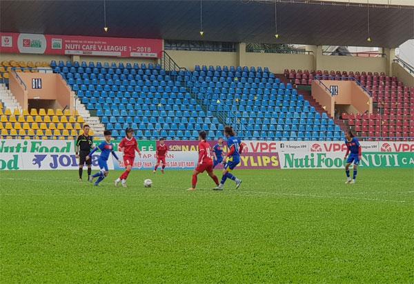 Trước thềm U16 nữ ĐNA 2018: ĐT U16 nữ Việt Nam đấu tập với U19 nữ Than KSVN