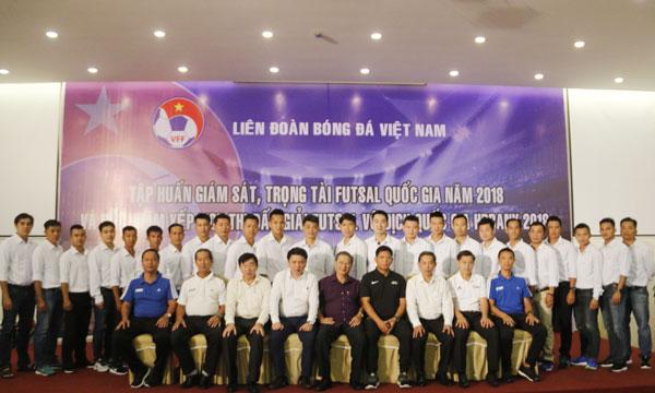 Khai mạc Lớp tập huấn giám sát, trọng tài Futsal Quốc gia mùa giải 2018