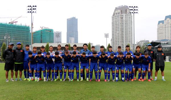 Danh sách đội tuyển U16 nữ Việt Nam tham dự giải U16 nữ ĐNA 2018