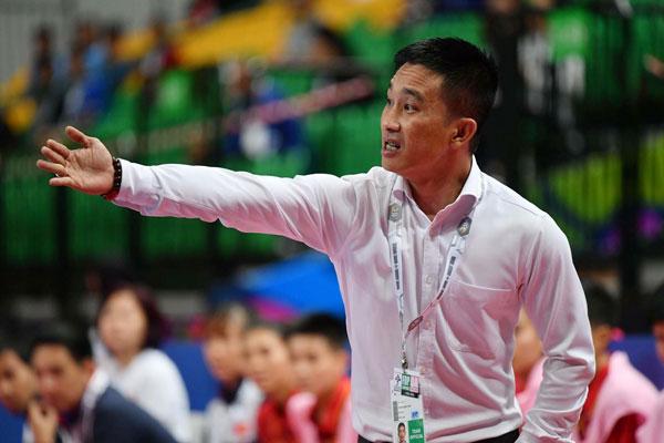 HLV trưởng Trương Quốc Tuấn: Các cầu thủ Việt Nam đã cải thiện được khâu dứt điểm