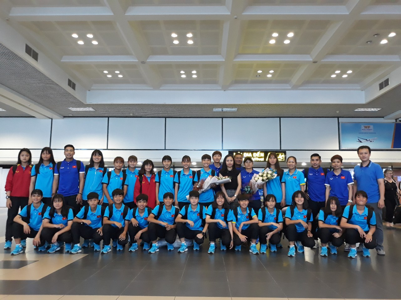 Đội tuyển U16 nữ Việt Nam về nước, kết thúc chuyến thi đấu AFF U16 nữ 2018