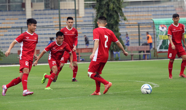 U19 Việt Nam hội quân trở lại, chuẩn bị tham dự giải U19 Đông Nam Á 2018