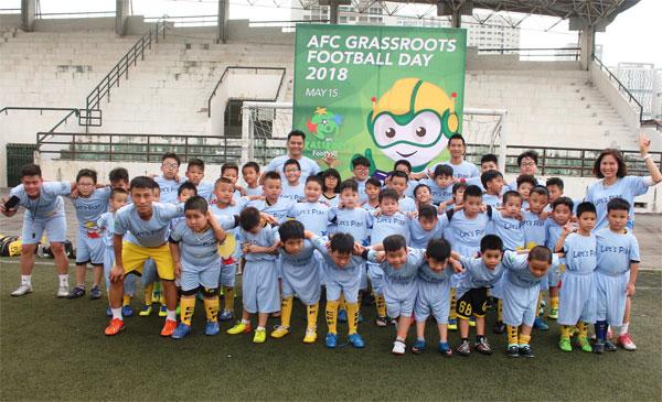 VFF hưởng ứng ngày hội bóng đá phong trào AFC