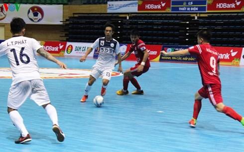 VCK Giải Futsal VĐQG HDBank 2018 (19/5): Hải Phương Nam ĐH Gia Định vươn lên đầu bảng