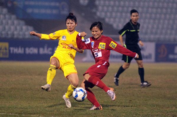 Ngày mai (21/5), khởi tranh lượt đi giải bóng đá nữ VĐQG - Cúp Thái Sơn Bắc 2018