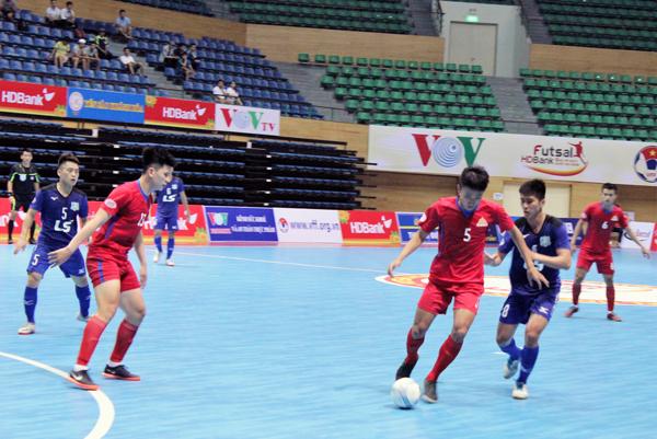 VCK Giải Futsal VĐQG HDBank 2018 (20/5): Cao Bằng buộc Thái Sơn Nam nếm mùi thất bại