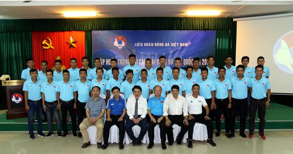 Khai mạc lớp tập huấn trọng tài các giải bóng đá trẻ Quốc gia 2018