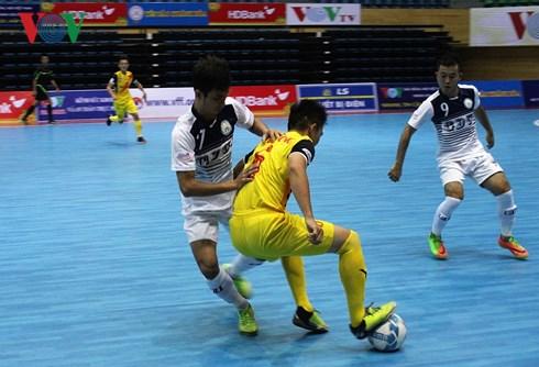 VCK Giải Futsal VĐQG HDBank 2018: Hải Phương Nam ĐHGĐ mất điểm đáng tiếc