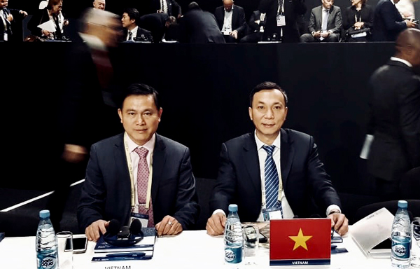 Lãnh đạo VFF cảm ơn FIFA về những hỗ trợ đối với bóng đá Việt Nam