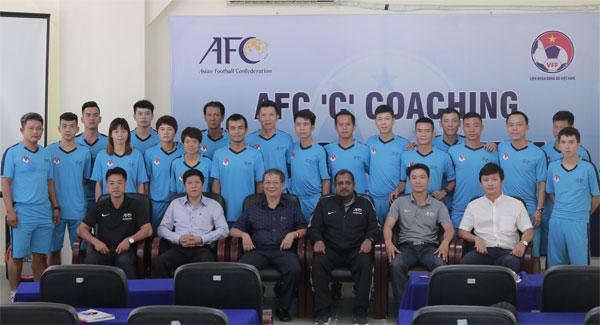 Khai giảng khóa học HLV chứng chỉ 'C' AFC năm 2018 tại Đà Nẵng