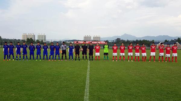 Giao hữu tại Quảng Châu, U19 Việt Nam - CLB Meizhou Meixian Techand: 5-0