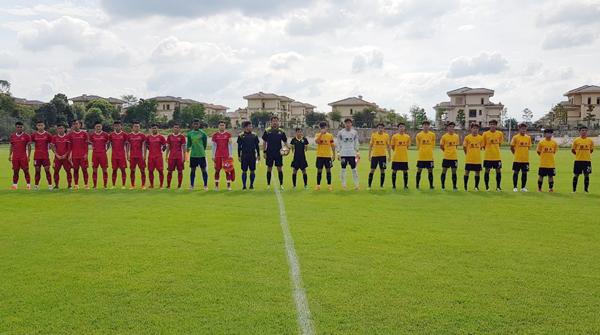 U19 Việt Nam hòa CLB Quảng Châu Evergrande B, Tiến Anh lỡ hẹn giải Đông Nam Á