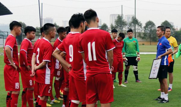 U19 Việt Nam chốt danh sách dự Giải vô địch U19 Đông Nam Á 2018